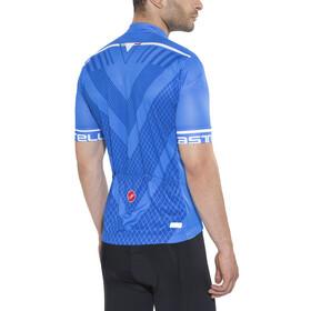 Castelli Velocissimo Jersey FZ Men drive blue